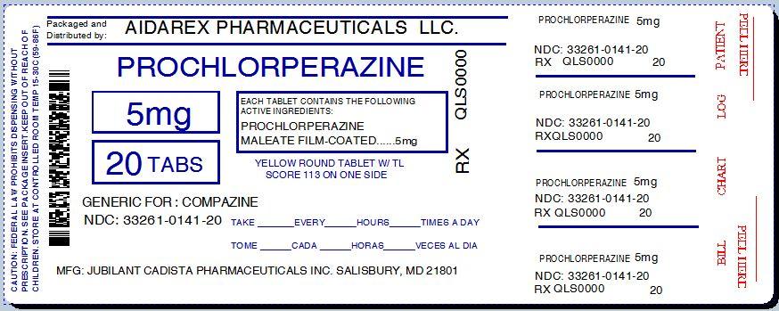 Prochlorperazine 5mg Tablets Dosage