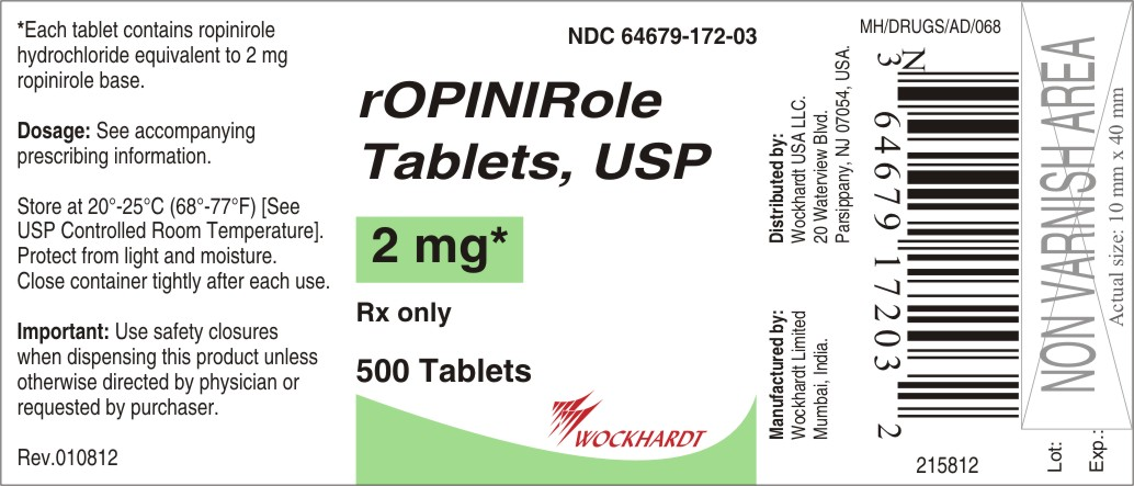 Ropinirole Hydrochloride Generic