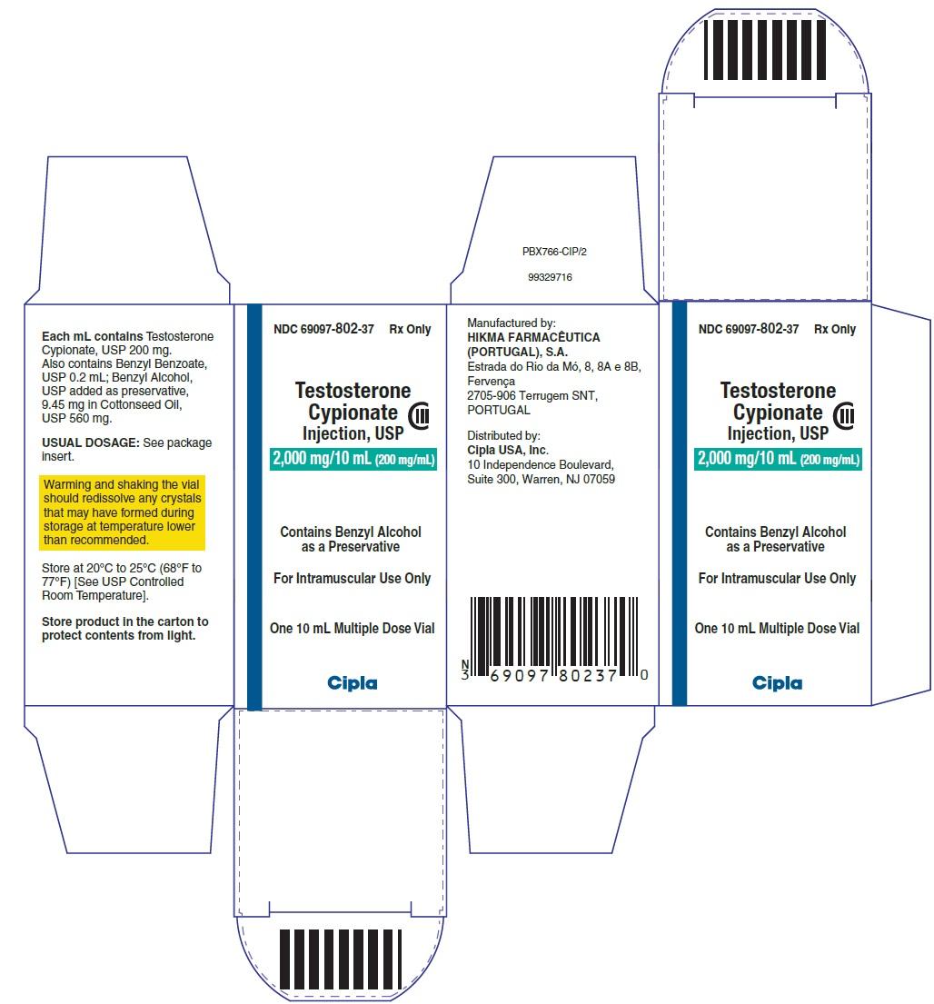 Testosterone Cypionate - Cipla USA Inc , Page 2