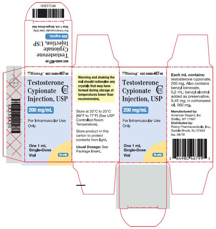 Testosterone Cypionate - Rising Pharmaceuticals, Inc