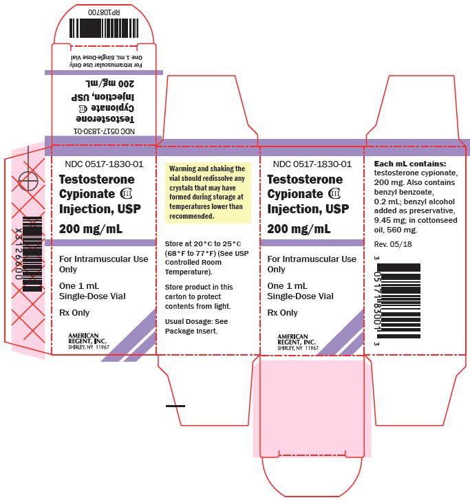 Testosterone Cypionate - American Regent, Inc