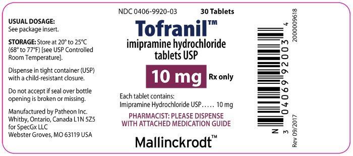 TOFRANIL - SpecGx LLC, Page 4