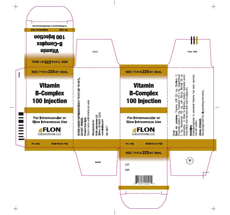 VITAMIN B COMPLEX - FLON LABORATORIES LLC